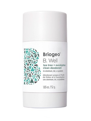 Briogeo B. Well Tea Tree + Eucalyptus Clean Deodorant