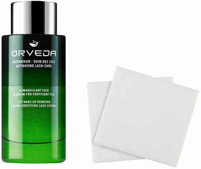 Orveda Eye Make up Remover & Pro Fortifying Lash Serum