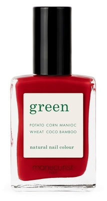 Manucurist Green Nail Lacquer Red Cherry