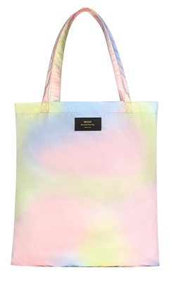 Wouf Tie Dye Recycled Tote Bag