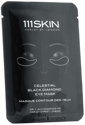 111 Skin Celestial Black Diamond Eye Mask