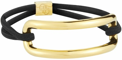 Deborah Pagani Open Pill Hair Cuff Gold