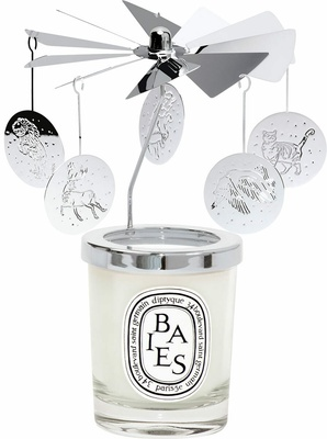 Diptyque Xmas Carrousel with Baies Candle